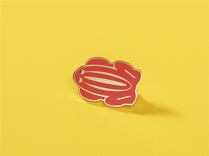 red-frog-pin