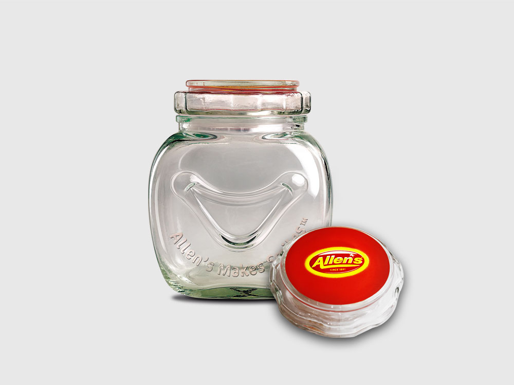 Allen's Makes Smiles custom Lolly Jars