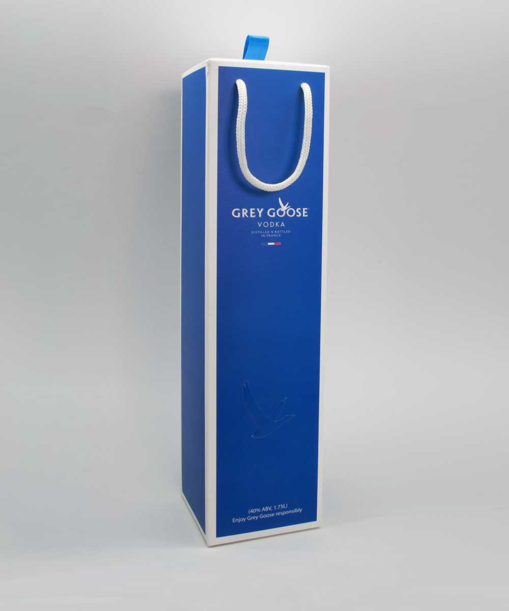 Grey Goose Duty Free Packaging