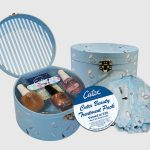 Cutex Beauty Treatment Pack with matching shower cap.