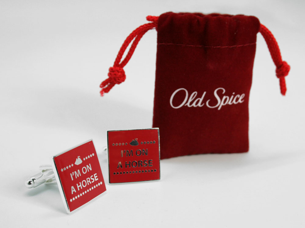 Old-spice Cuff Links